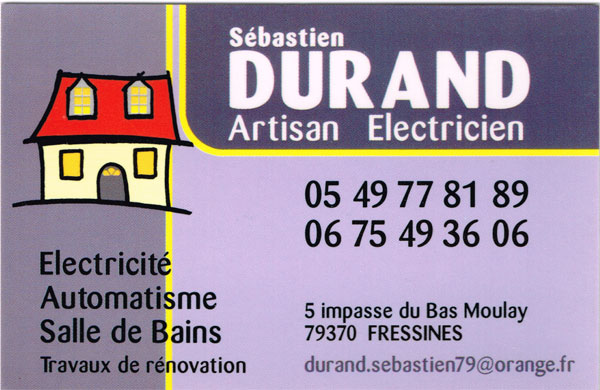 Electricien DURAND